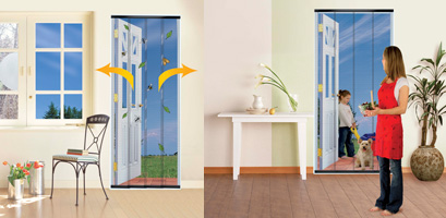 Doorway Insect Curtain